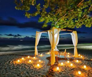 beach, romantic, and travel image