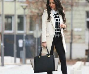 fashion, bag, and black image
