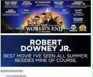 Avengers, rdj, and funny image