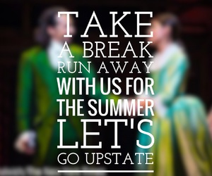 broadway, hamilton, and quote image