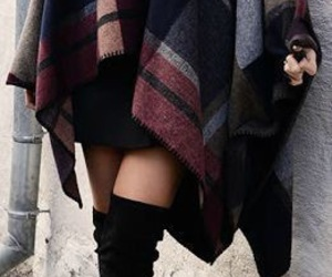 autumn, brown, and outfit image
