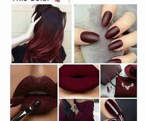 hair, nails, and lips image