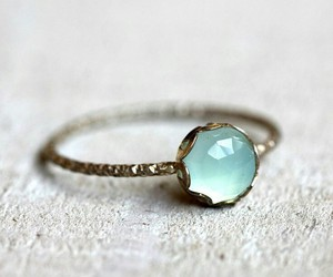 ring, blue, and jewelry image