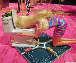 barbie and drunk image