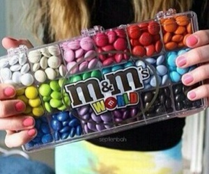 m&m's and beautifulcolours image