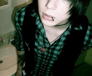 andy sixx, black veil brides, and emo image