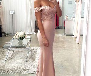 dress, Prom, and fashion image