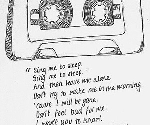 asleep, the smiths, and Lyrics image