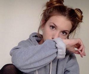 ariana grande, tumblr, and hair image