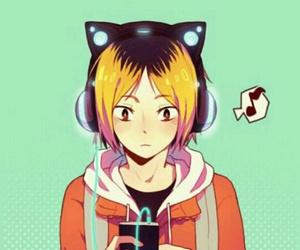 haikyuu, anime, and kenma image