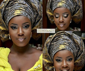 aso ebi, african prints, and black n bold image