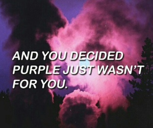 purple, Lyrics, and quotes image