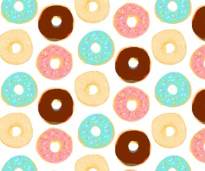 donuts, wallpaper, and cute image