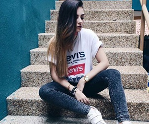 chic, girl, and levis image