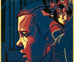 cool, netflix, and stranger things image