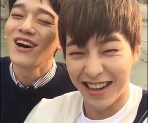 Chen, xiumin, and minseok image