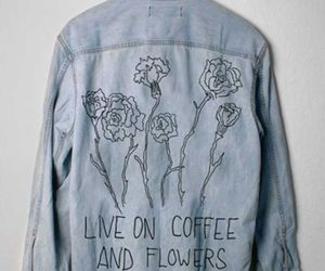 flowers and jacket image