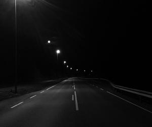 dark, Darkness, and night image