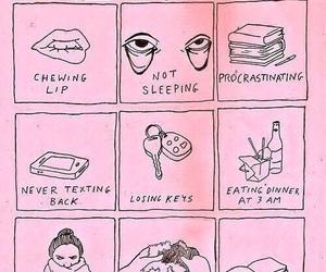 pink, bad habits, and habits image