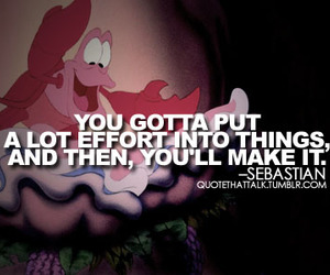 little mermaid, disney, and quotes image