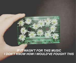 alternative, flowers, and songs image