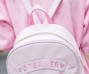 pink, dreamer, and bag image