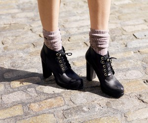 ankle socks, booties, and boots image