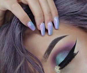 colors, makeup, and fashion image