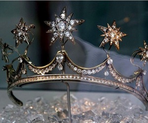 crown, diamond, and stars image