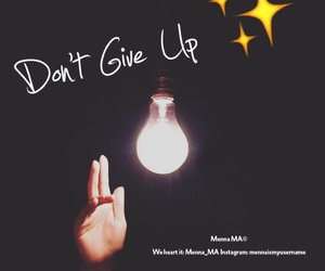 background, design, and don't give up image