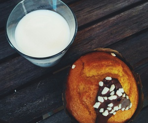 milk and muffin image