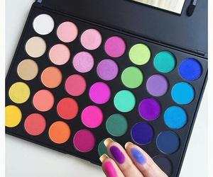 colorful, cool, and eyeshadow image