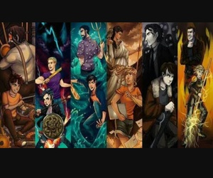 percy jackson, demigods, and heroes of olympus image