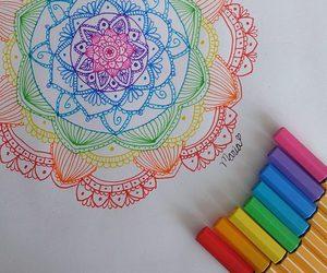 zentangle art and mandalas image