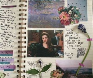 journal and picture image