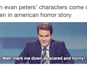 ahs, funny, and evan peters image
