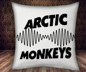 arctic monkeys, pillow cases, and pillow case custom image