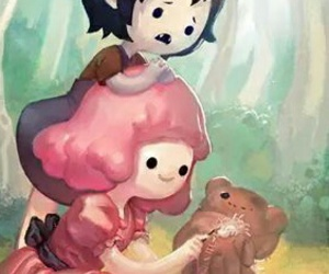 marcy, marceline, and adventure time image