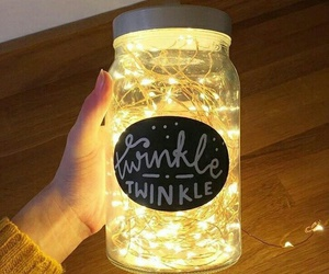 light, twinkle, and diy image
