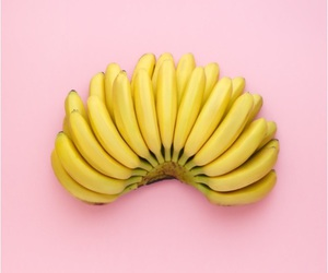 banana, delicious, and eat image