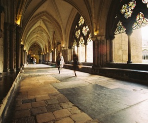 photography, architecture, and hogwarts image