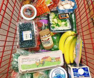 food, groceries, and grocery haul image