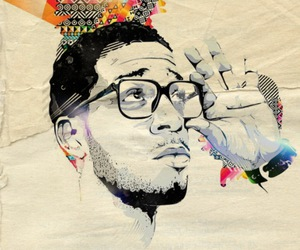 art, cudi, and dope image