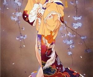 kimono and japan image
