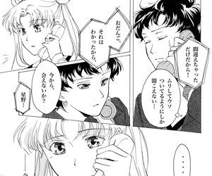 seiya and usagi, doujinshi, and sailor moon image