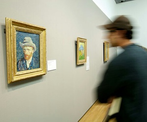 van gogh, art, and museum image