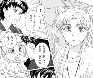 usagi and seiya, fragrant olive, and seiya and usagi image