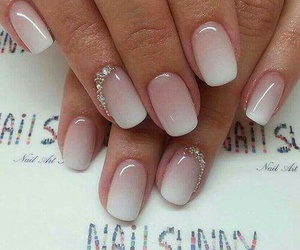 girls, nails, and white image