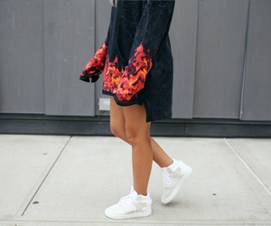 blue, shoes, and fashion image