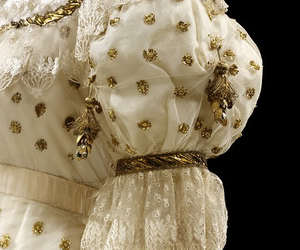 ball gown, dress, and sleeves image